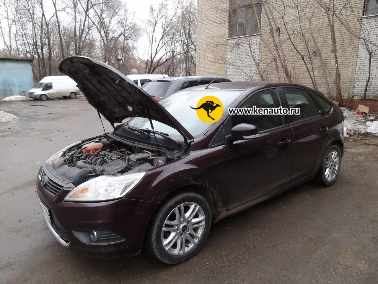 Амортизатор капота форд фокус 2